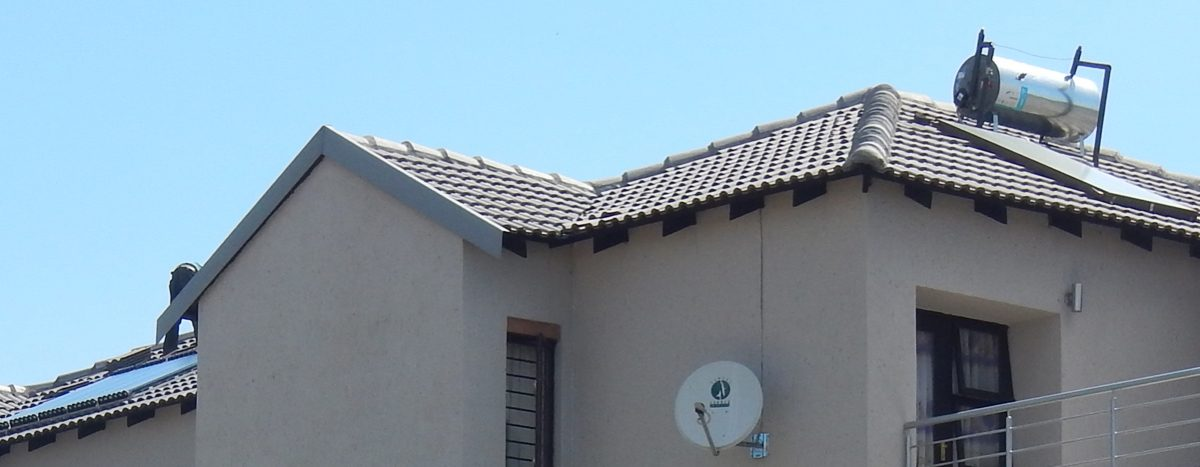 SOLAR WATER HEATING TYPES AND AESTHETICS