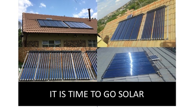IT IS TIME TO GO SOLAR