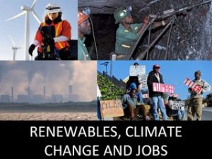Read more about the article RENEWABLES, CLIMATE CHANGE AND JOB CREATION